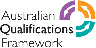 Australian Qualifications Framework logo.